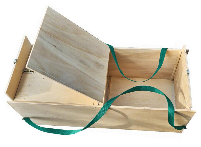 Transport-Kiste für Ente Esmeralda